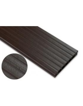Deska standard – ciemny brąz – szeroki rozstaw 2400x140x22 mm