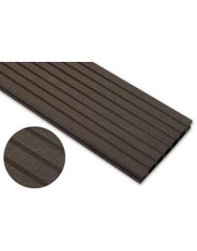 Deska szlifowana – ciemny brąz – szeroki rozstaw 2400mm x 145mm x 24mm