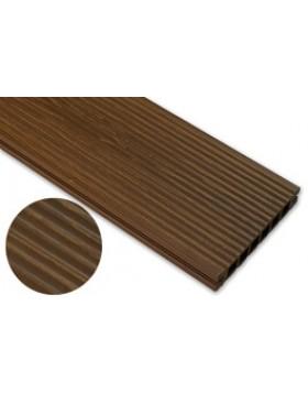 Deska deseniowana – dąb brąz – wąski rozstaw 3600x145x24 mm
