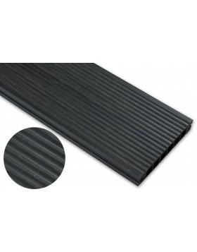 Deska deseniowana – antracyt – wąski rozstaw 3600x140x22 mm