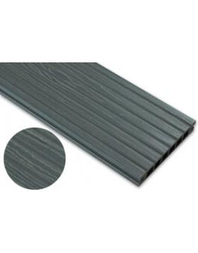 Deska deseniowana – grafit – szeroki rozstaw 2400mm x 140mm x 22mm