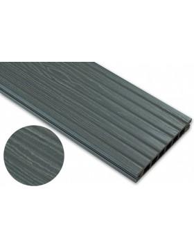 Deska deseniowana – grafit – szeroki rozstaw 3200mm x 140mm x 22mm
