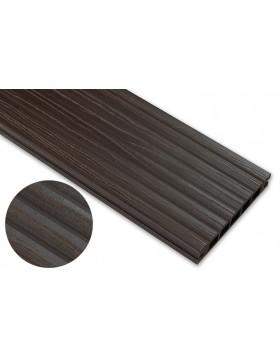 Deska deseniowana – ciemny brąz – szeroki rozstaw 3200mm x 140mm x 22mm