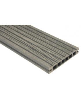 Deska szlifowana-deseniowana – antracyt – szeroki rozstaw 2400mm x 145mm x 24mm,