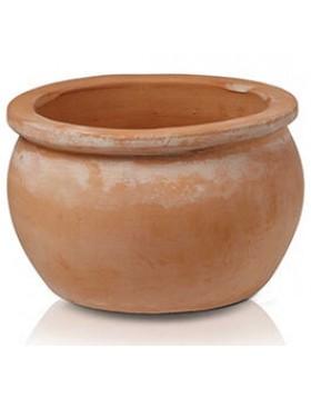 Donica ceramiczna Tus Round-pot 28x16 cm
