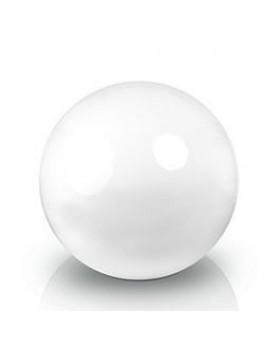 Ekskluzywna kula dekoracyjna 500 x 500 mm Fiber decoball white