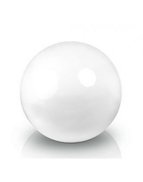 Ekskluzywna kula dekoracyjna 600 x 600 mm Fiber decoball white