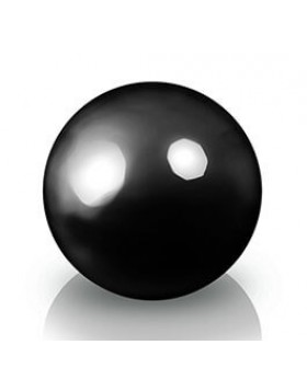 Donica - Kula Fiberglass decoball black, średnica 40 cm