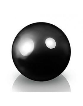 Ekskluzywna kula dekoracyjna 600 x 600 mm Fiber decoball black