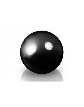 Donica - Kula Fiberglass decoball black, średnica 50 cm