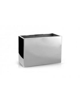 Ekskluzywna lustrzana donica 60x30x39 cm