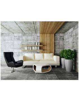 Donica Fiberglass cygaro - graphite, wysokość 62 cm, średnica 32 cm