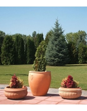 Donica ceramiczna Terra Dzban Duży 62x62 cm