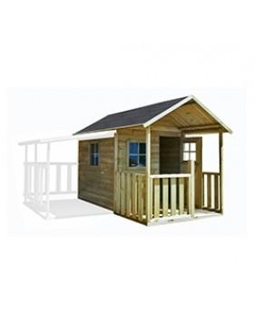 Drewniany domek ogrodowy dla dzieci - Biedronka