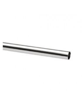 Drążęk chromowany Elfa srebrny - 25x25x930 mm