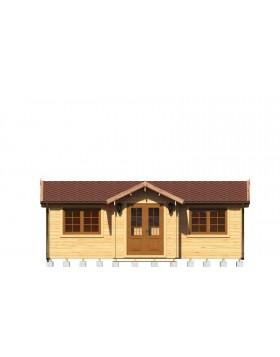 Drewniany domek letniskowy Victoria
