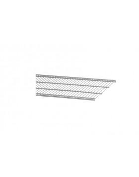 Półka ażurowa 40 platinum 14x405x450 mm