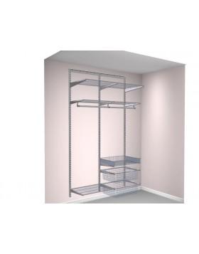 Garderoba Elfa - Taormina - platinum