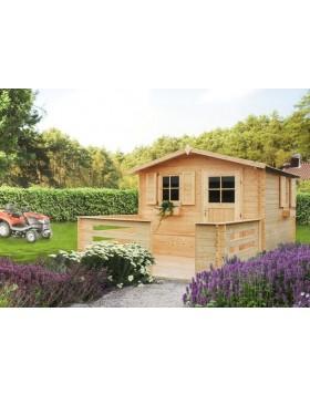 Domek ogrodowy Hiacynt