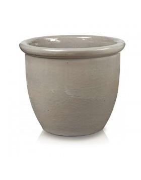 Donica ceramiczna   Glazed 352 Pot 49x40 cm