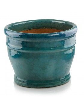 Donica ceramiczna   Glazed Chalice 35x26 cm