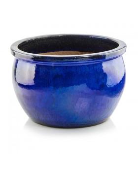 Donica ceramiczna   Glazed Round 50x32 cm