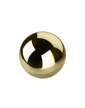 Kula dekoracyjna Gold średnica 10 cm - 6 sztuk