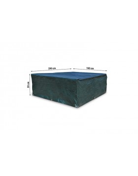 Pokrowiec na meble ogrodowe 290 x 160 x 59 cm