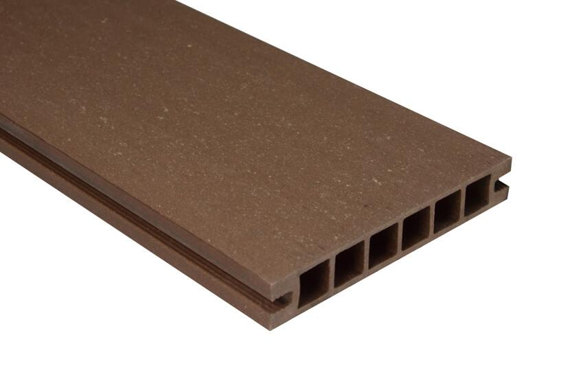Deska DeLux - szlifowana –jasny brąz – 2400x160x28 mm
