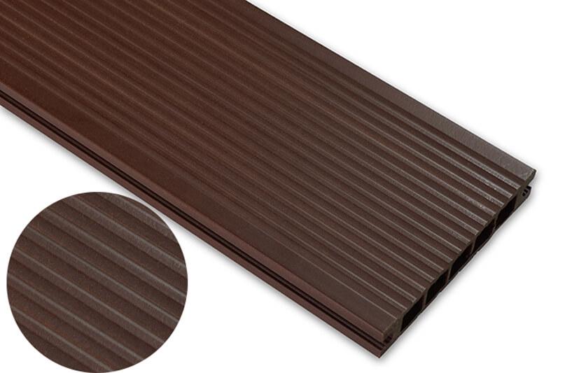 Deska standard – jasny brąz – wąski rozstaw 2200x140x22 mm
