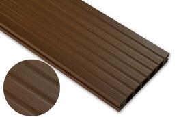 Deska standard – dąb brąz – szeroki rozstaw 2200x140x22 mm
