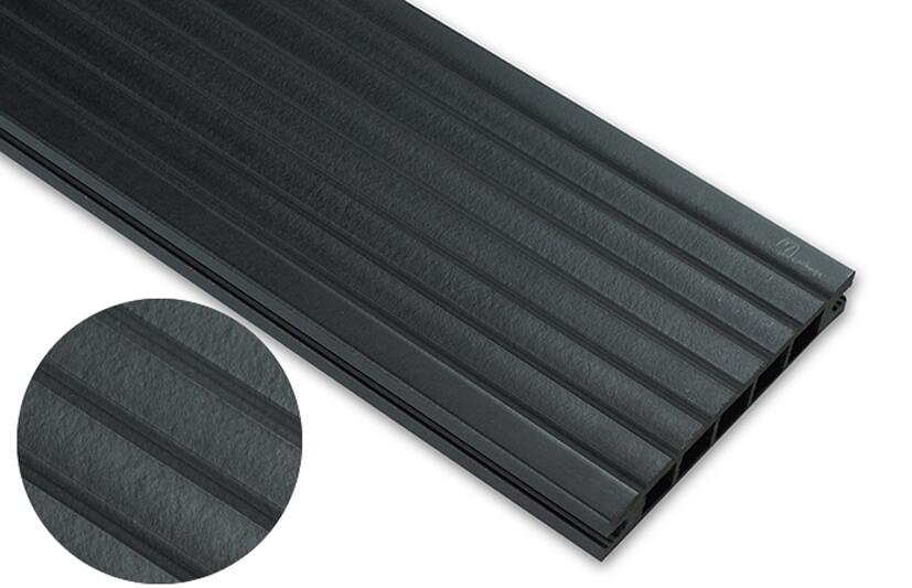 Deska standard – antracyt – szeroki rozstaw 3200x145x24 mm
