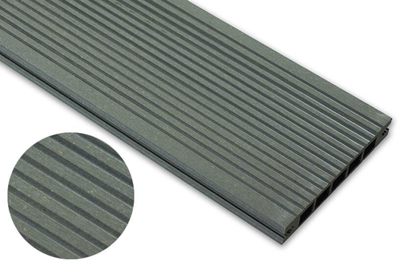 Deska szlifowana – grafit – wąski rozstaw 2400x140x22 mm