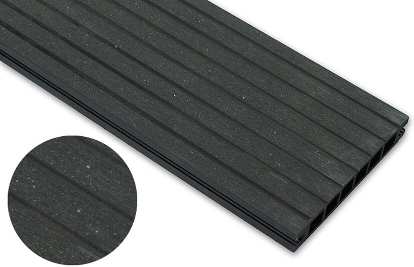 Deska szlifowana – antracyt – szeroki rozstaw 2200x140x22 mm