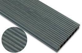Deska deseniowana – grafit – wąski rozstaw 2400x140x22 mm