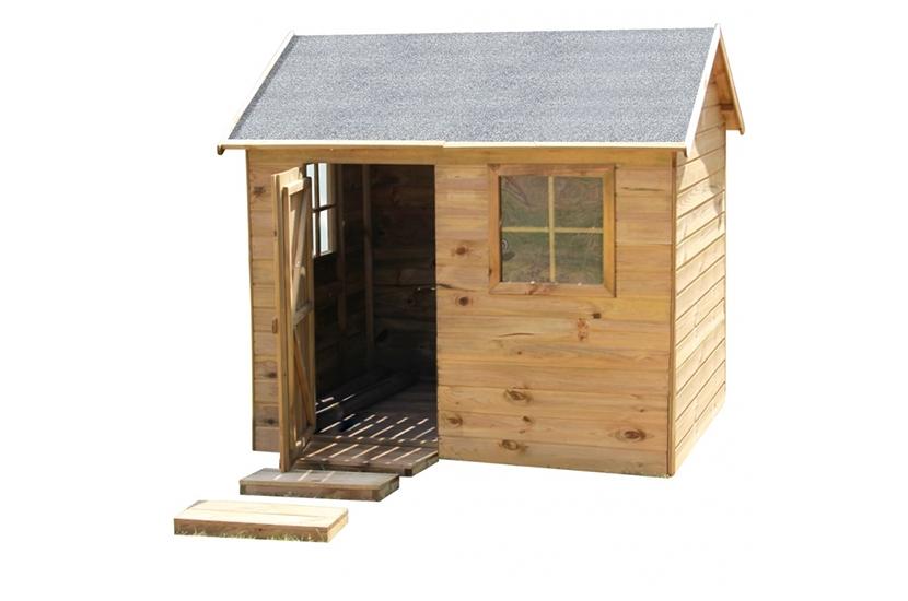 Drewniany domek ogrodowy dla dzieci - Wiesio