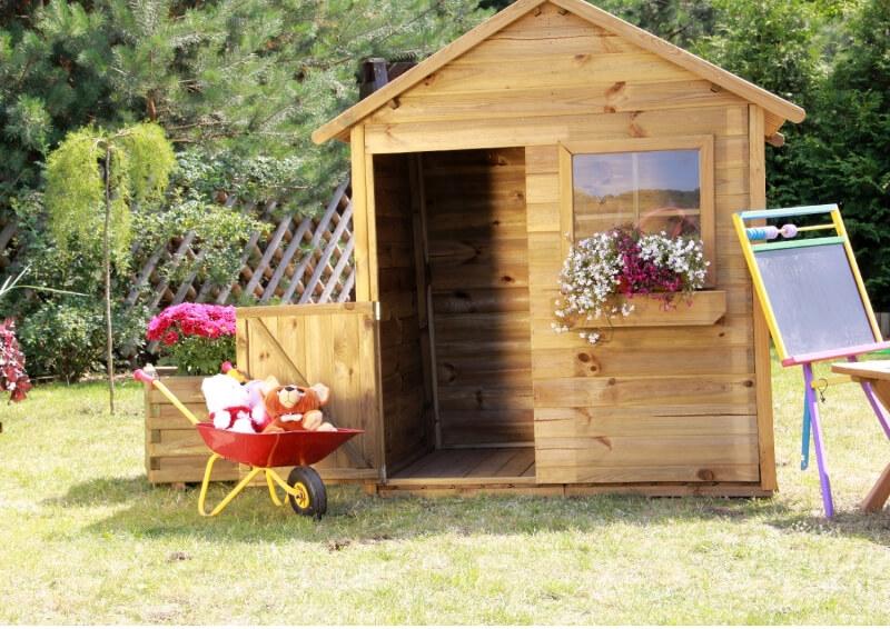 Domek drewniany domek dla dzieci Miecio