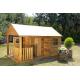 Drewniany domek ogrodowy dla dzieci - Szymon