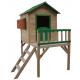 Malowany domek ogrodowy z drewna dla dzieci - Tosia