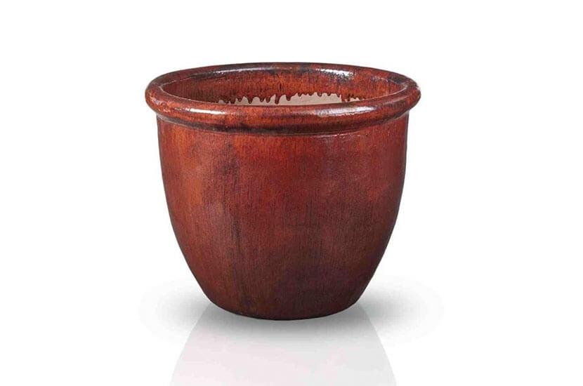 Donica antique rust 30x24 cm