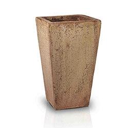 antique rust - średnica 42 cm; wysokość 72 cm
