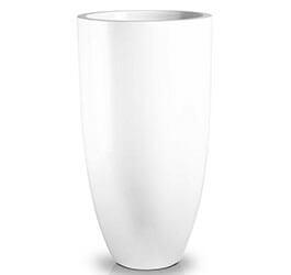 Donica Fiberglass Cygaro white 42 x 78 cm