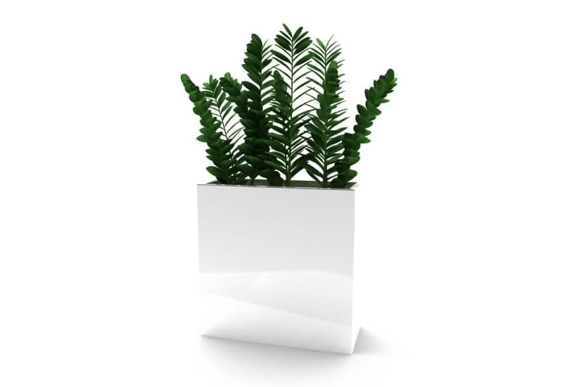 Donica 60x25x60  - biały