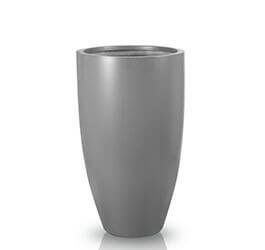 Donica Fiberglas cygaro graphite, średnica 42 cm, wysokość 78 cm