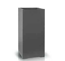 Donica Fiberglass high square graphite, średnica 28 cm, wysokość 60 cm