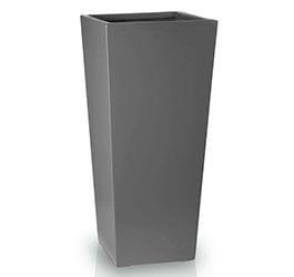 Donica Fiberglas kamila graphite, średnica 45 cm, wysokość 95 cm