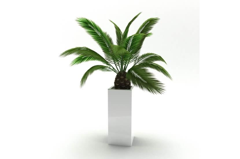 Donica 25x25x60 - biała