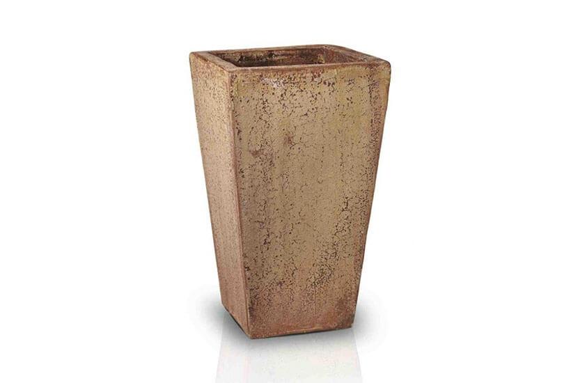 antique rust - średnica 31 cm; wysokość 51 cm