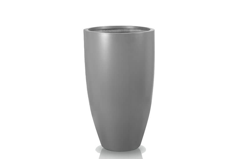Donica Fiberglas cygaro graphite, średnica 55 cm, wysokość 100 cm
