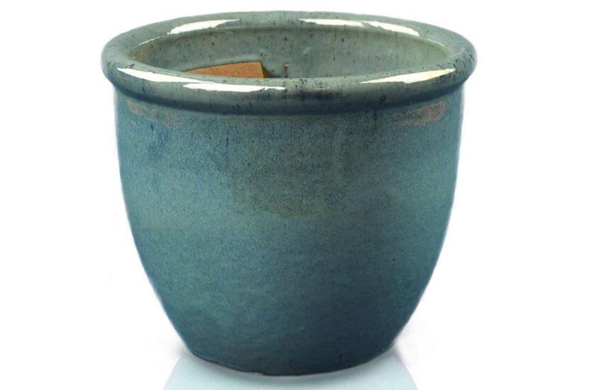 Donica ceramiczna Glazed 352 Pot 49 cm x 40 cm Turkus
